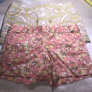 2 JCREW classic shorts